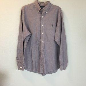 Ralph Lauren Polo purple button down shirt - L